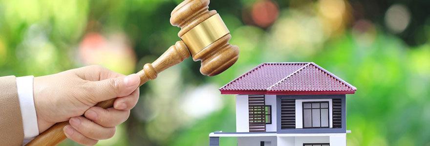 Ventes immobilières aux enchères des biens saisis par la justice